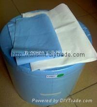 藍色加厚純木漿吸油吸水擦拭紙