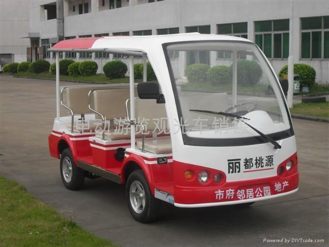 湖南电动游览车 长沙电瓶游览车 1