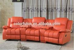 VIP Cinema Recliner Sofa leather sofa LS601