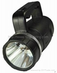 GLS-6610 10W high power, 80000lux high brightness led flashlight