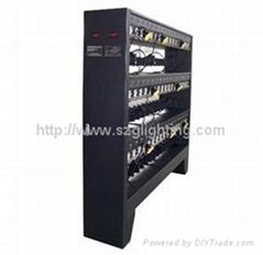104units Charger rack GLR-104(B) for GJ3.5  GJ4.5 Ni-MH battery cap lamp