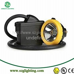 GL5-C anti-explosive 15000lux atrightness led mining cap lamp 1 meter high b