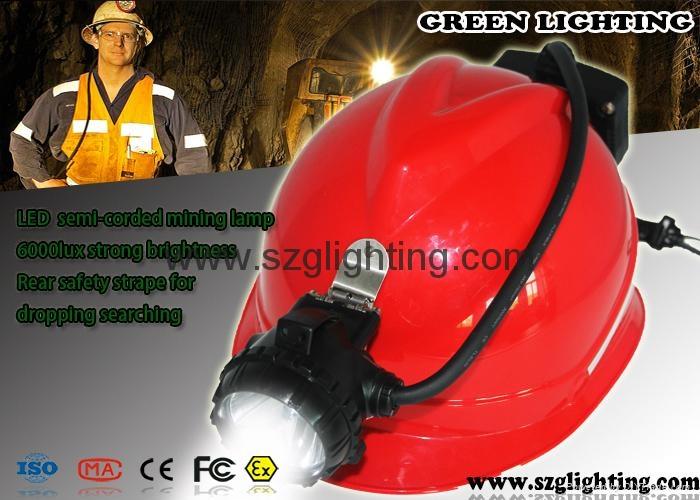 miner's cap lamp