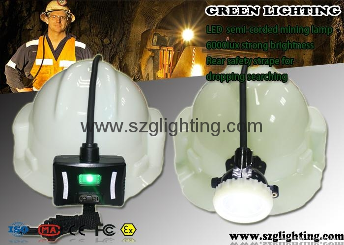 led cordless mining light