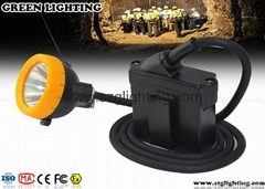 GL8-C 7.8Ah, 15000lux Explosion-proof wire mining lamp