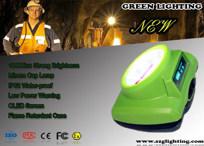 led mining cap lamp