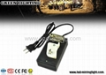 Miner Lamp single charger GLC-02(A) for cordless Li-ion battery cap lamps
