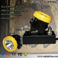 GL2-A wireless intrinsically safe mining light with 2.2Ah Li-ion Battery