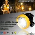 GL2-A wireless intrinsically safe mining light with 2.2Ah Li-ion Battery