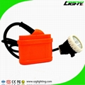 GJ6.0-A rechargeable NI-MH battery Coal Mining Cap Lamp