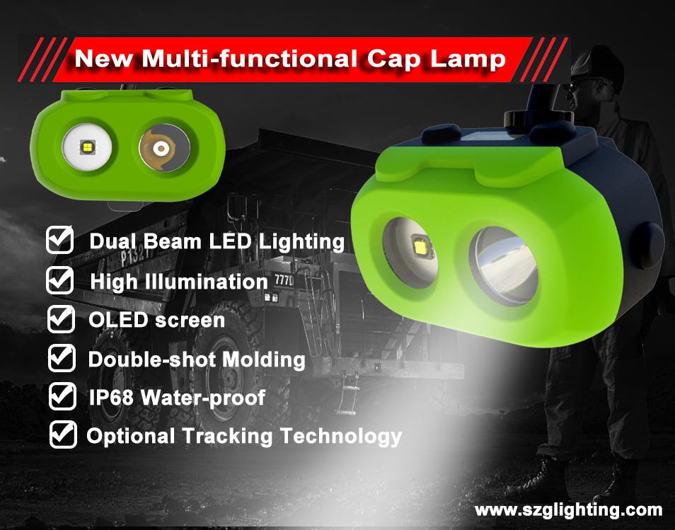 New Multi-functional Cap Lamp