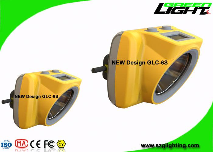 13000 Lux Rechargeable LED Mining Light With OLED Screen USB Charging 1