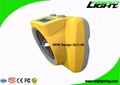 13000 Lux Rechargeable LED Mining Light With OLED Screen USB Charging 2