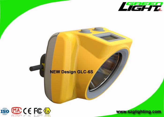 13000 Lux Rechargeable LED Mining Light With OLED Screen USB Charging 3