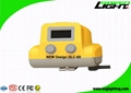 13000 Lux Rechargeable LED Mining Light With OLED Screen USB Charging