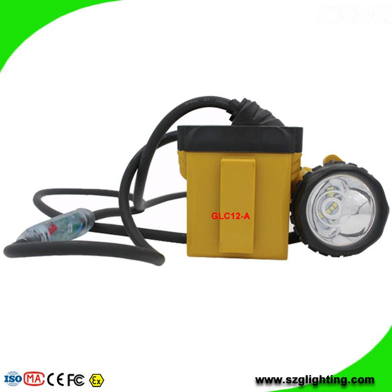 25000 Lux Safety Underground Mining Cap Lamp with Cable Flashlight  1