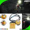 25000 Lux Safety Underground Mining Cap Lamp with Cable Flashlight  4