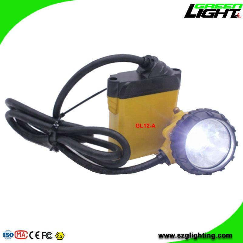 25000 Lux Safety Underground Mining Hard Hat Lights with 4 Levels Lighting Mode 1