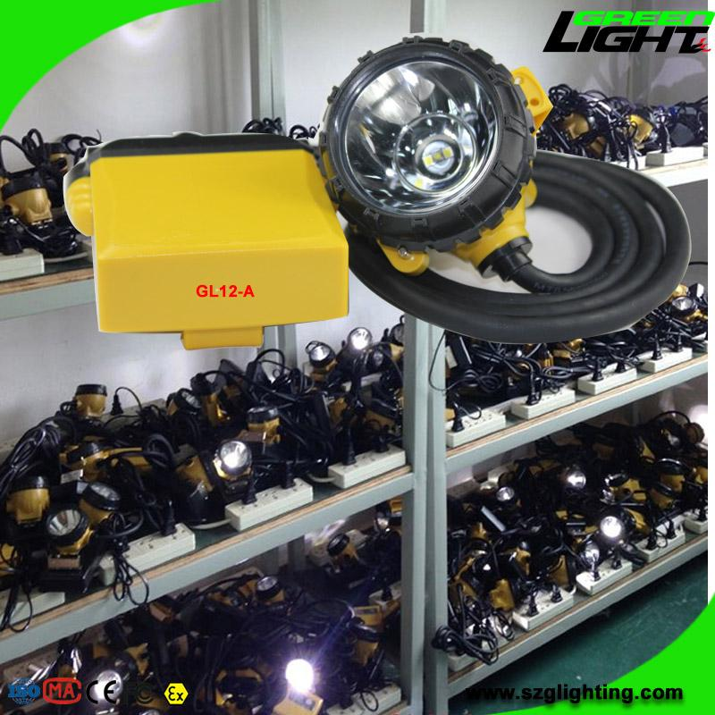 25000 Lux Safety Underground Mining Hard Hat Lights with 4 Levels Lighting Mode 3