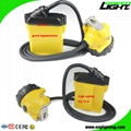 25000 Lux Safety Underground Mining Hard Hat Lights with 4 Levels Lighting Mode 4