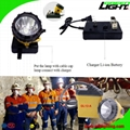 25000 Lux Safety Underground Mining Hard Hat Lights with 4 Levels Lighting Mode