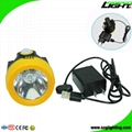 Economic 10000 Lux Cordless Mining Cap Lights with USB Charger Waterproof IP68