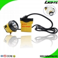 25000 Lux Mining Safety Cap Lamp with Cable SOS Low Power Warning Function