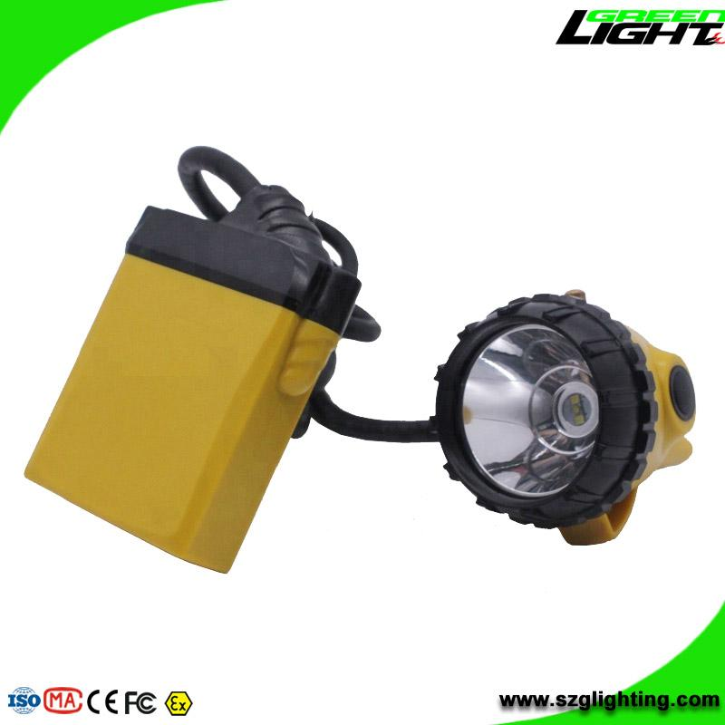 25000 Lux Mining Safety Cap Lamp with Cable SOS Low Power Warning Function 3