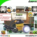 25000 Lux Mining Safety Cap Lamp with Cable SOS Low Power Warning Function 5