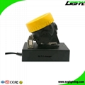Traditional 5000Lux Rechargeable Wireless Mining Lamp Cap Light 4