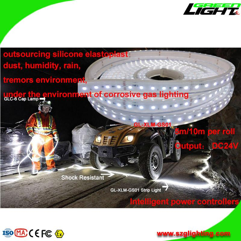 Waterproof IP68 LED Flexible Light Strip for Underground Mines Lighting  5