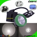 Msha Approved LED Mining Lights with Cable USB Charger Coal Miners Lantern