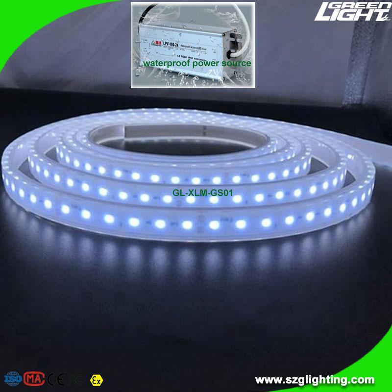 Waterproof 24V LED Flexible Strip Lighting Explosion Proof For Underground Mine 3