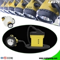 GL12-A LED Mining Cap Light with Cable 25000 Lux SOS  3