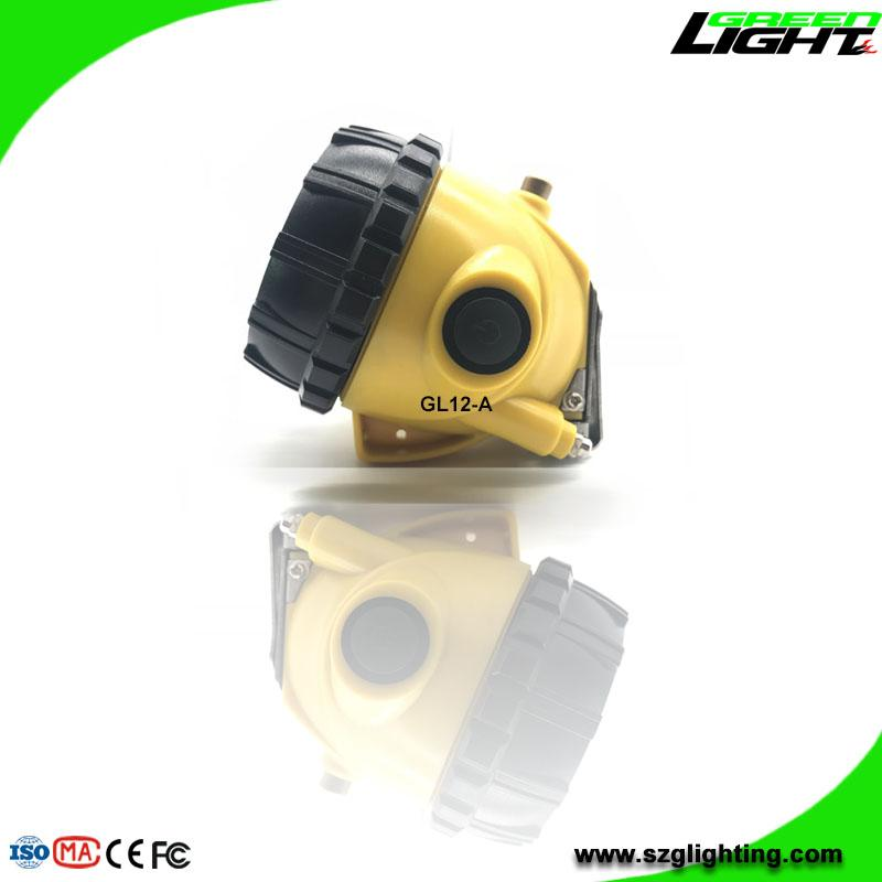 GL12-A LED Mining Cap Light with Cable 25000 Lux SOS  5