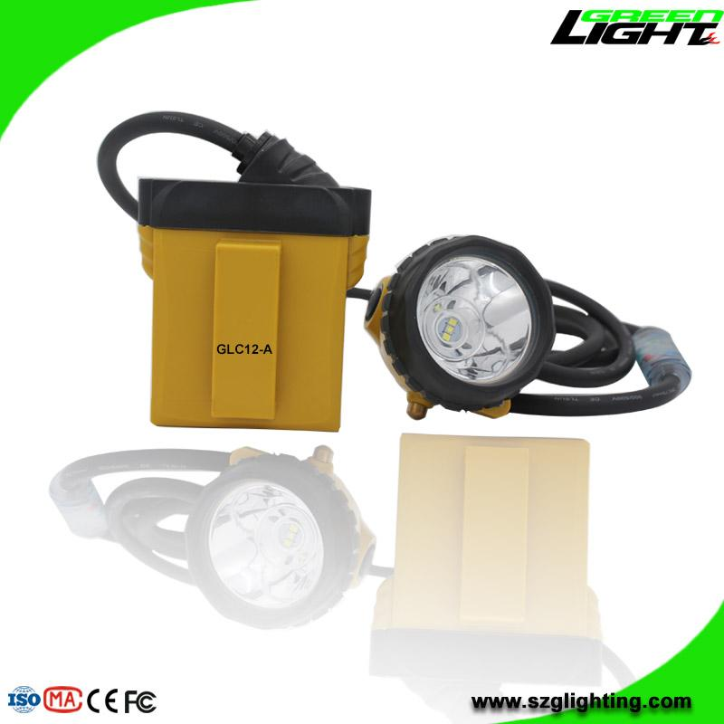 25000 Lux Mining Headlamp with Cable Flashlight Low Power Warning High Safety  2