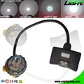 6.8Ah Panasonic Battery Mining Cap Lights 15000 Lux Underground Hard Hat Light