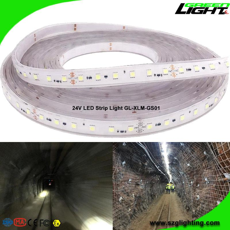 Explosion Proof SMD5050 Safety Underground Mine LED Flexible Ribbon Strip Lights 1