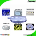 Explosion Proof SMD5050 Safety Underground Mine LED Flexible Ribbon Strip Lights 3