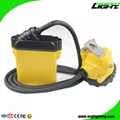 25000 Lux Rechargeable LED Mining Lamp Waterproof Coal Miner Cap Light 2