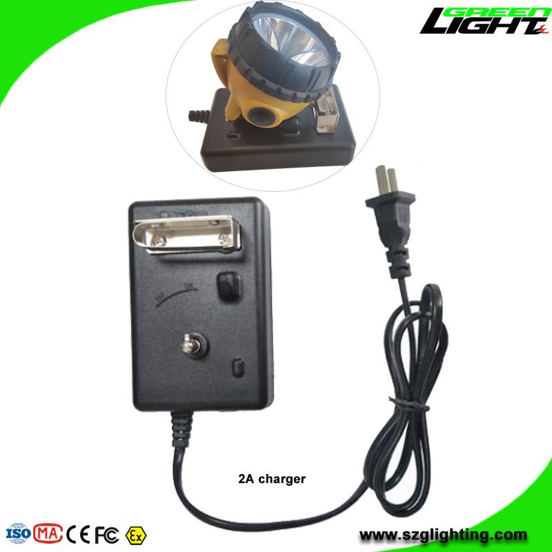 25000 Lux Rechargeable LED Mining Lamp Waterproof Coal Miner Cap Light 5