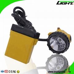High Low Beam Rechargeable Coal Miner Headlamp Waterproof IP68 Mining Cap Light