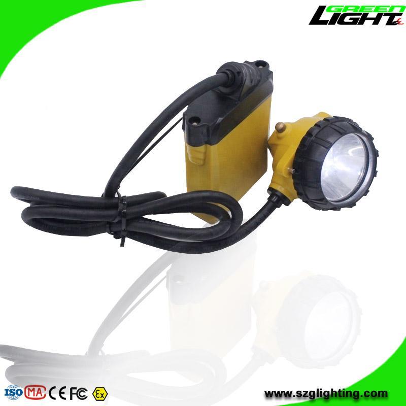 High Low Beam Rechargeable Coal Miner Headlamp Waterproof IP68 Mining Cap Light  2