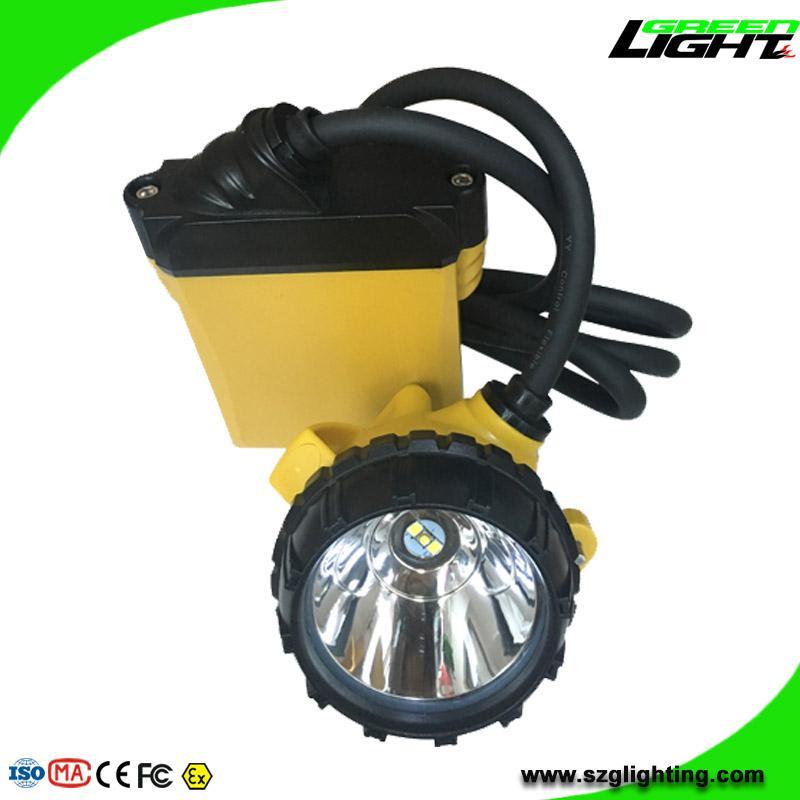 High Low Beam Rechargeable Coal Miner Headlamp Waterproof IP68 Mining Cap Light  3