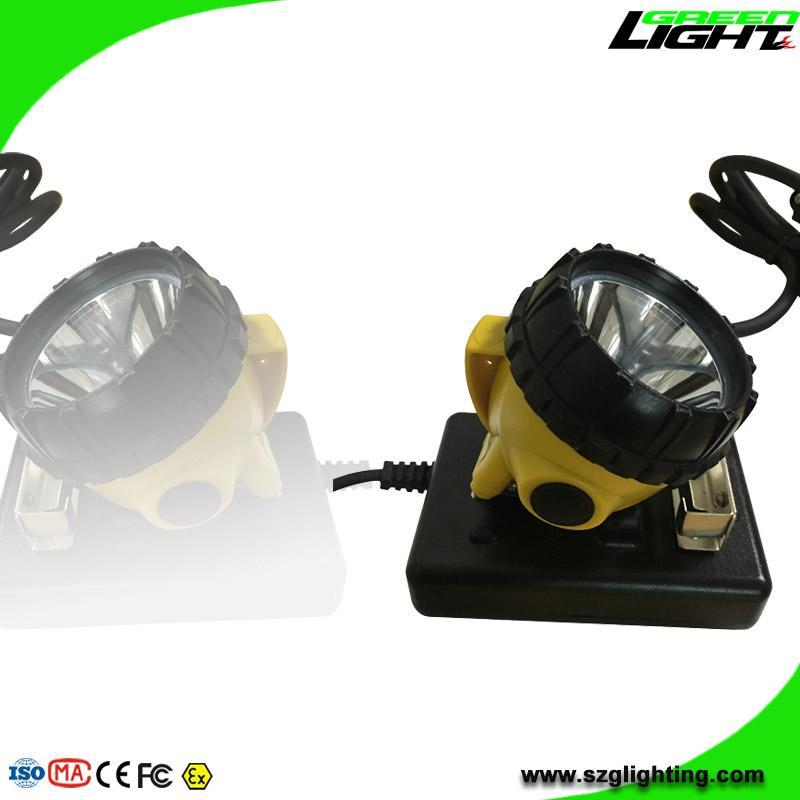 High Low Beam Rechargeable Coal Miner Headlamp Waterproof IP68 Mining Cap Light  4