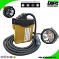 25000 Lux High Safety Cree Led Mining Headlight with Lithium Battery
