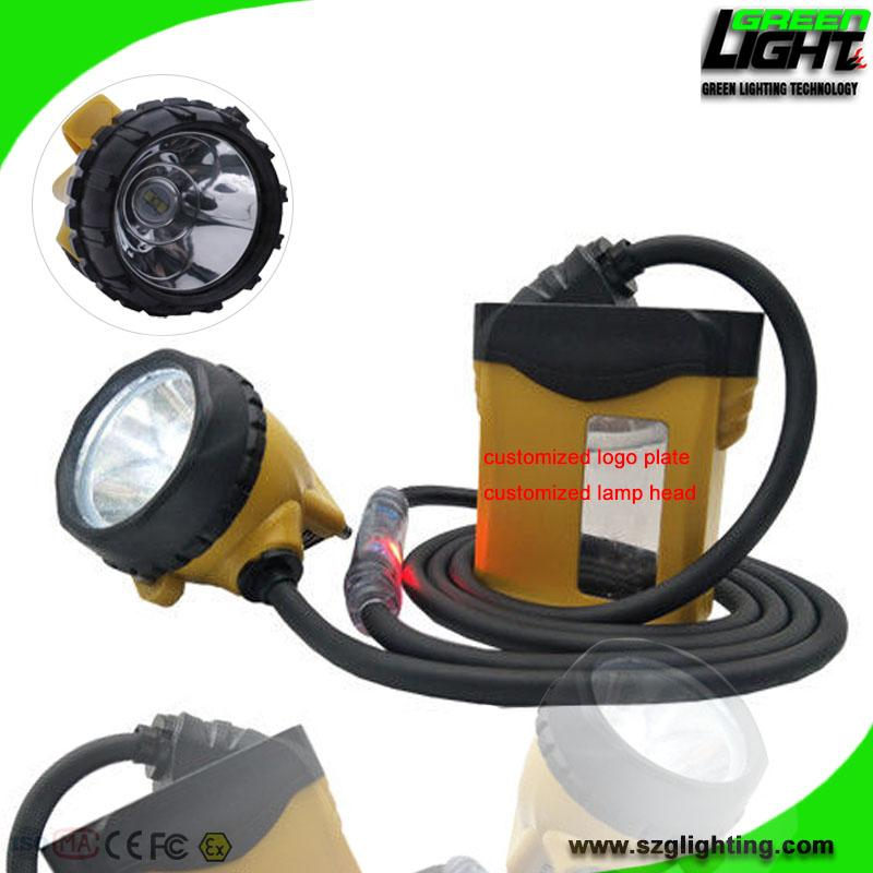 25000 Lux High Safety Cree Led Mining Headlight with Lithium Battery  2