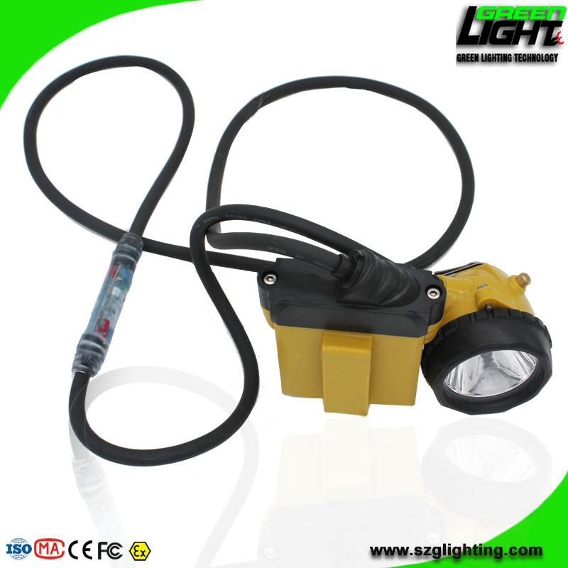 25000 Lux High Safety Cree Led Mining Headlight with Lithium Battery  3