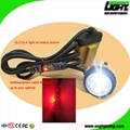 25000 Lux High Safety Cree Led Mining Headlight with Lithium Battery  4