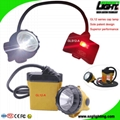 25000 Lux High Safety Cree Led Mining Headlight with Lithium Battery  5